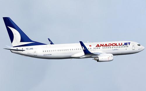 Anadolujet'in Ankara - Gazipaşa Uçuşları 22 Ocak 2014'de Başlıyor