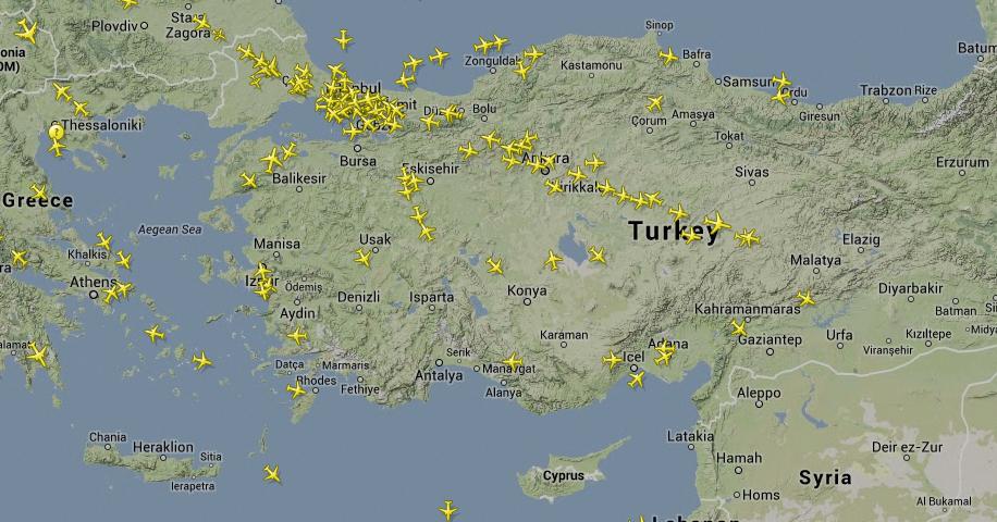 canlı uçuş takibi